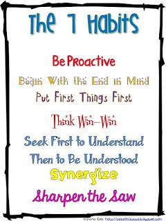 Leader in Me 7 habits